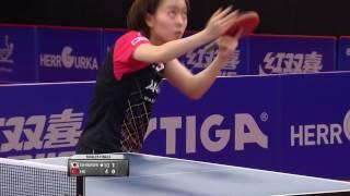【スウェーデンOP2016】女子シングルス決勝 石川佳純vsHU Melek(トルコ)
