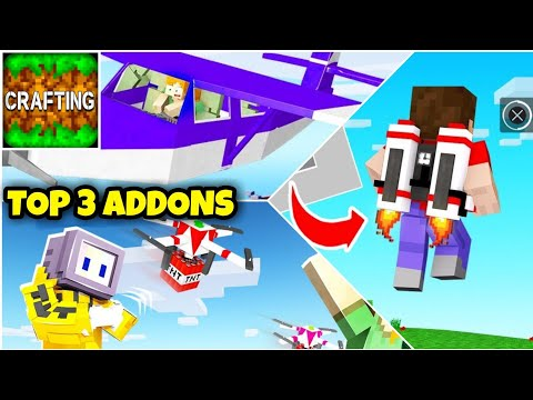 Top 3 Best Addons For Crafting And Building