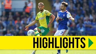 HIGHLIGHTS: Ipswich Town 1-1 Norwich City
