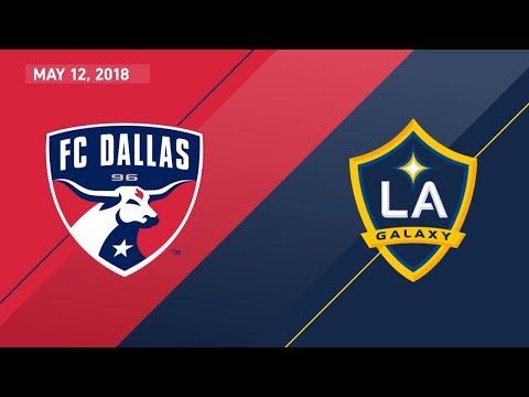 HIGHLIGHTS: FC Dallas vs. LA Galaxy | May 12, 2018