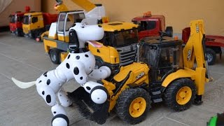 Jouets BRUDER Spielwaren TRUCK TRAKTOR and RC DoG