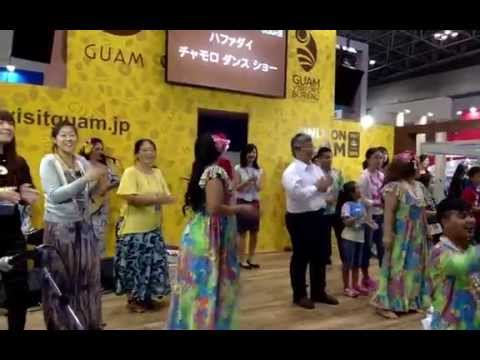 Team Guam at JATA: Håfa Adai Chamorro Dance Show (09-27-15)
