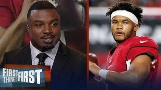 Brian Westbrook isn't buying Kyler Murray is a 'Generational Talent' | NFL | FIRST THINGS FIRST