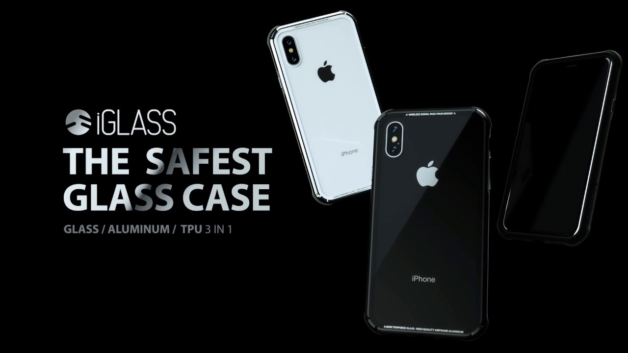 check out 08e5e 5797d SwitchEasy iGlass Case for 2018 New iPhone Xs/X/XR/XS MAX Anti-Scratch  Temper Glass