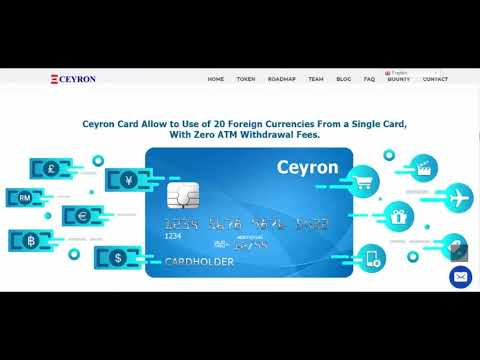 CEYRON : THE WORLD'S LEADING, GLOBALLY ACCEPTED CRYPTOCURRENCY
