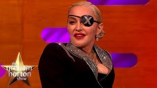 'Madame X' Madonna Does NOT Enjoy Her Son's Football Games | The Graham Norton Show