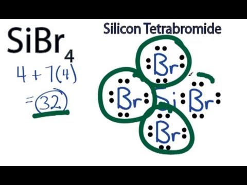Lewis Structure For Sibr4