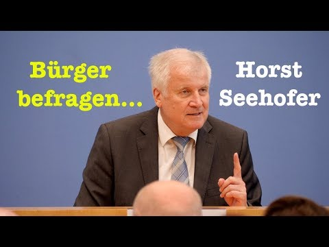 BürgerPresseKonferenz mit Horst Seehofer (CSU) - 25. August 2018