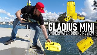 Mini Submarine?! Gladius Mini Review from Chasing Underwater Drones | DansTube.TV