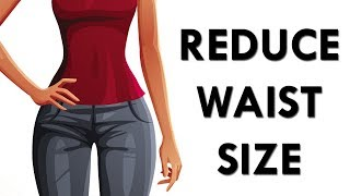 How To Reduce Waist Size FAST (Low Impact) | Waist Tightening Workout