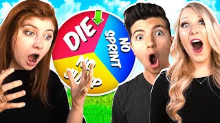 ROBLOX RAINBOW SPIN WHEEL CHALLENGE WITH PRESTONPLAYZ! (Flee The Facility)