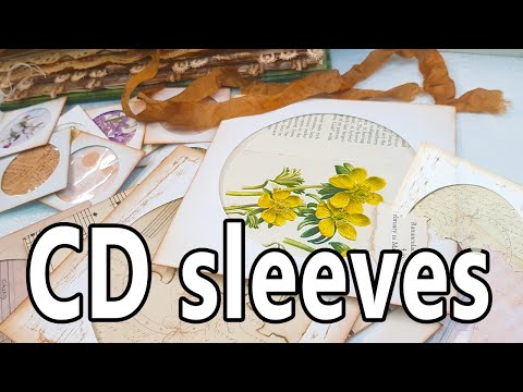 Make your own paper CD sleeve
