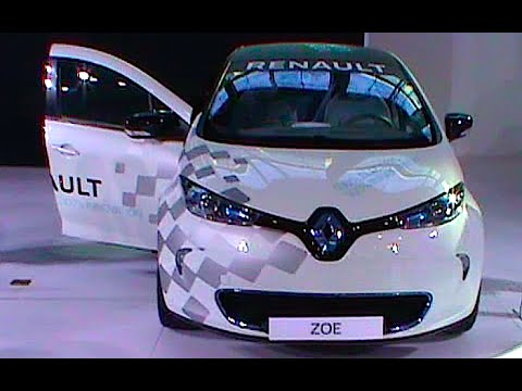 supermini sized electric car renault zoe 2016 2017 youtube. Black Bedroom Furniture Sets. Home Design Ideas