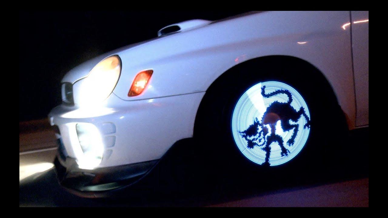 Подсветка дисков купить. Подсветка колес автомобиля 2016 - YouTube