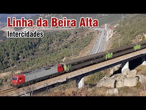 Comboios Intercidades na Linha da Beira Alta