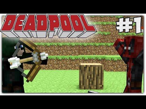 "Minecraft Deadpool EP 1: ""Deadpool vs Green Arrow"" (Minecraft Roleplay)"