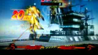 UMvC 3 Dr Doom TAC combo midscreen- El gato