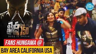 Khaidi No 150 Fans Hungama @ Bay Area California USA || #Chiranjeevi || #VVVinayak