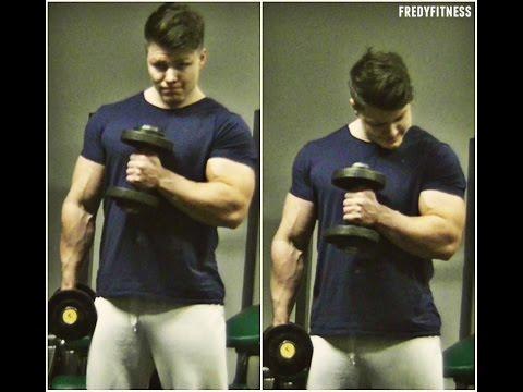 Nejlepší trénink na ruce! Biceps, triceps!