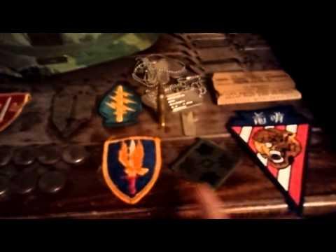 Vietnam War display