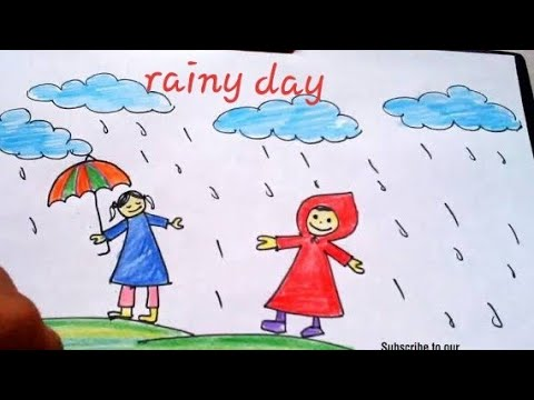 10 lines on a on rainy day in English for children and students// essay on rainy day in simple words