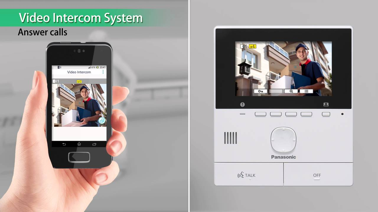 Introducing The Vl Svn511 Wireless Video Intercom System From Network Free Download Wiring Diagrams Pictures Panasonic Youtube