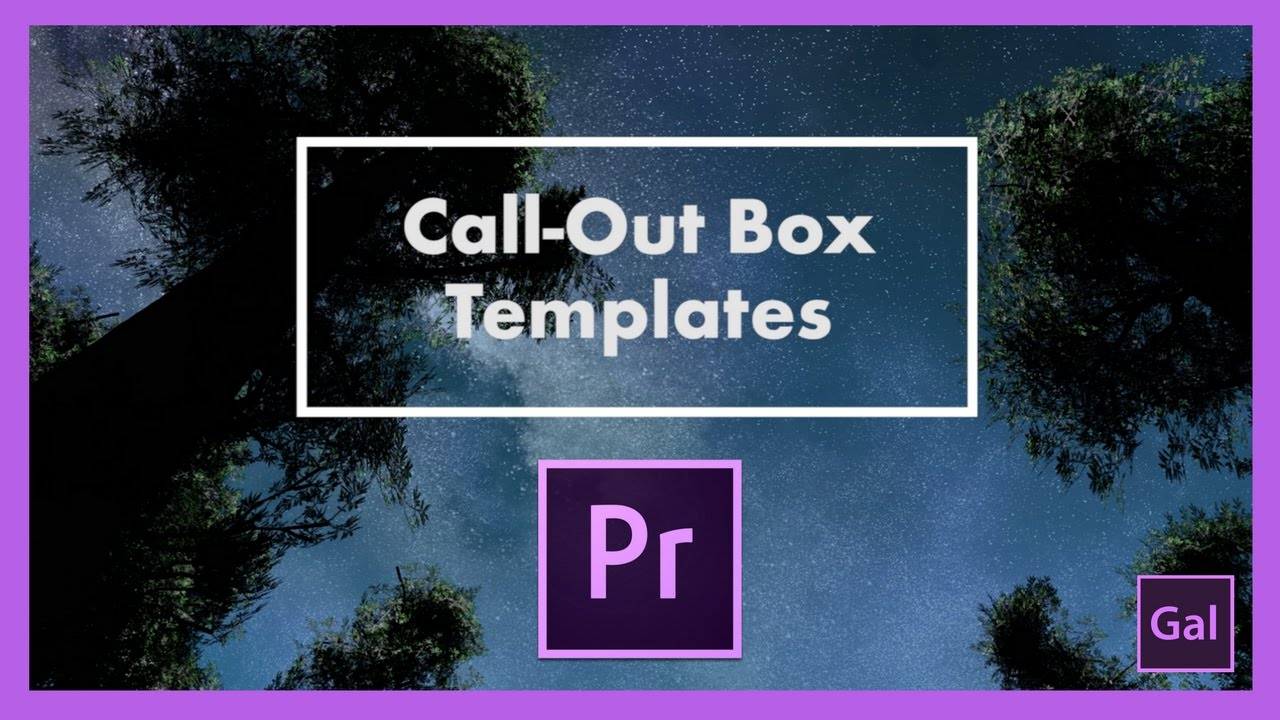 Free Call-Out Box Templates for Premiere Pro CC 2017 — Premiere Gal