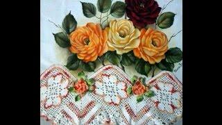 Como pintar Rosa vermelha com Eliane Franciscon