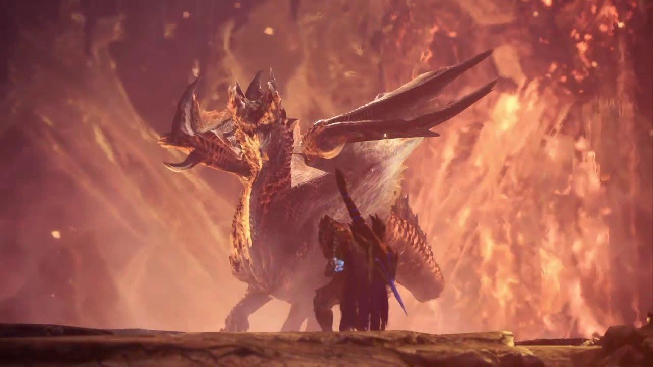 Monster Hunter World Iceborne Alatreon The Blazing Black Dragon Youtube