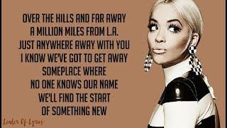 Video Rita Ora - ANYWHERE (Lyrics) download MP3, 3GP, MP4, WEBM, AVI, FLV Januari 2018