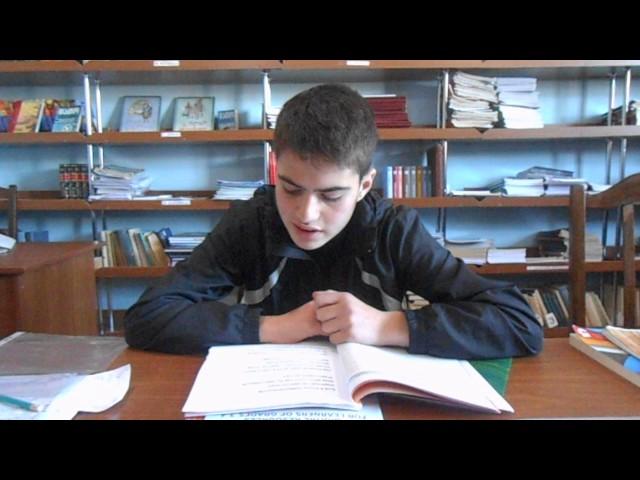 Изображение предпросмотра прочтения – ГеоргийТактакидзе читает произведение «Есть в осени первоначальной...» Ф.И.Тютчева