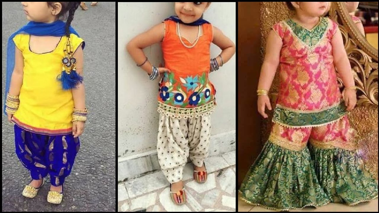 Latest Kids / little Girls party wear dresses | Salwar ...