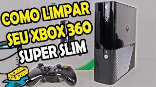COMO ABRIR SEU XBOX 360 SUPER SLIM PARA LIMPEZA (MÉTODO FÁCIL) TUTORIAL !!!