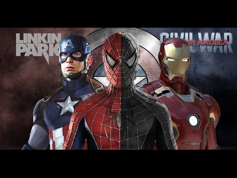 Marvel Captain America Civil War Music Video Linkin Park - In The End