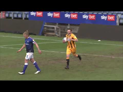 Oldham Cambridge Utd Goals And Highlights
