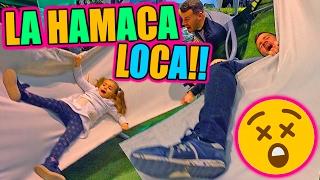HAMACA LOCA PIÑAZO!!!   ·VLOG·