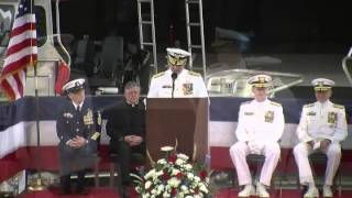Coast Guard hosts change of command for 5th District