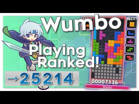 Puyo Puyo Tetris – Wumbo Ranked! 25034➜25214 (PC)