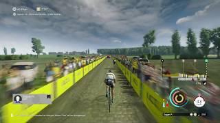 Tour de France 2018: Gameplay Paris - Roubaix