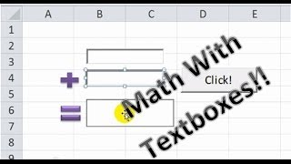 SUM of two or more Textboxes and Tricks to Automate This - Excel VBA