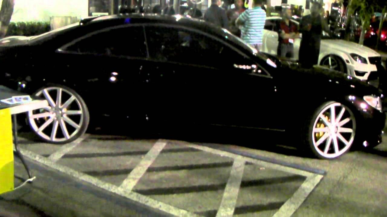 Dubsandtires Com Mercedes Cl 550 Review 22 Inch Xo