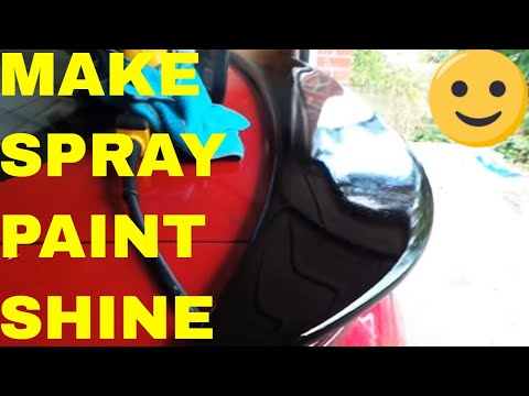How To Wet Sand and Polish After Spray Painting Car