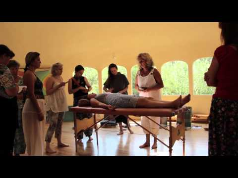 Sound Healer Intensive in the Dome in Alcalali(Spain). Russian group.