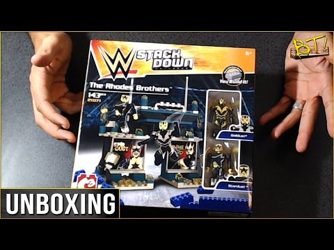 the-rhodes-brothers:-stardust-and-goldust---wwe-stackdown-unboxing