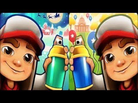 Subway Surfers Las Vegas VS Winter Holiday iPad Gameplay for Children HD #145