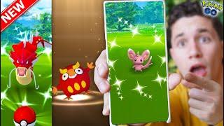 *NEW* SHINY MINCCINO, CINCCINO, DARUMAKA, RESEARCH & MORE! Lunar New Year Event in Pokémon GO