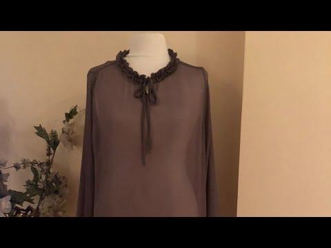 Pratik bluz kesimi ve dikimi.temiz dikiş nasıl dikilir