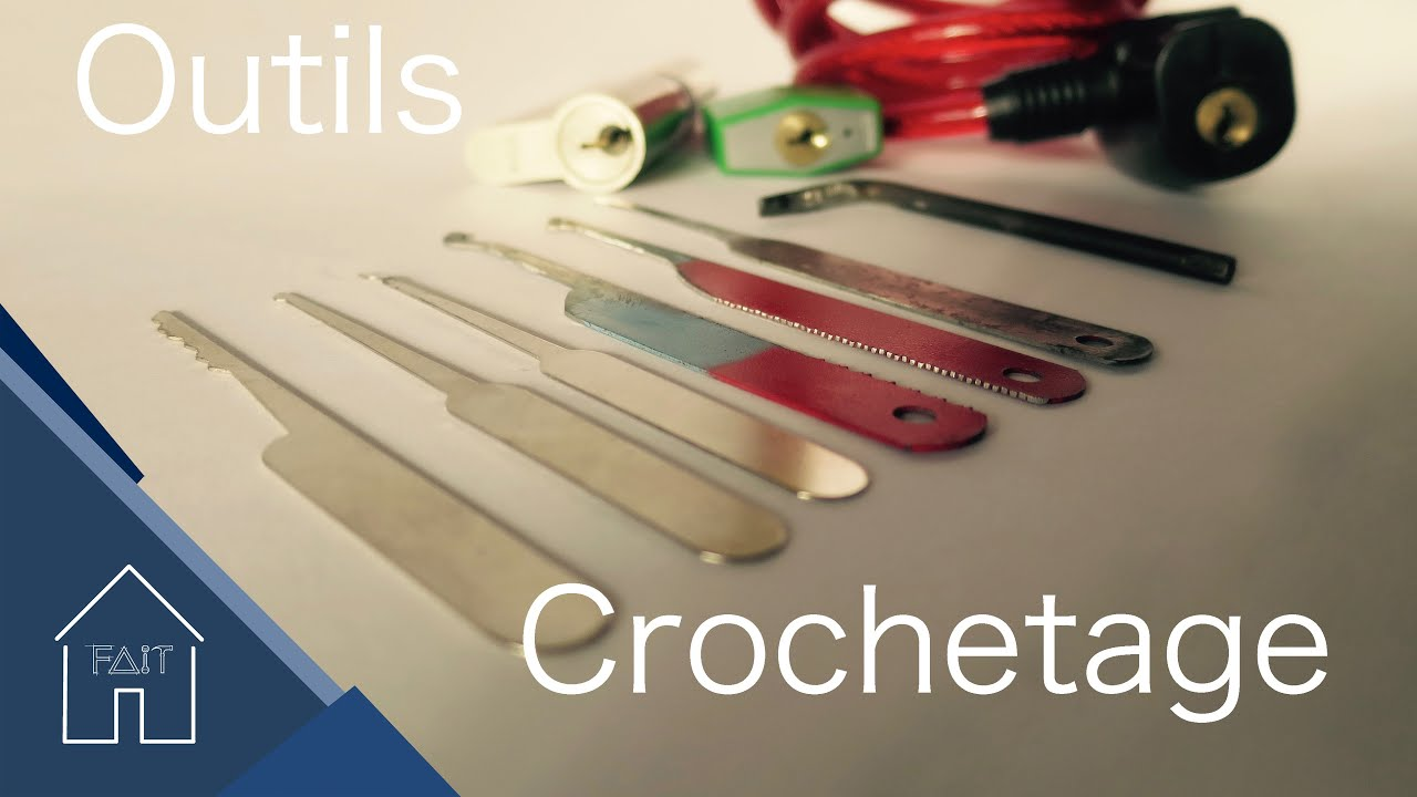 Fabriquer Outils Crochetage Youtube