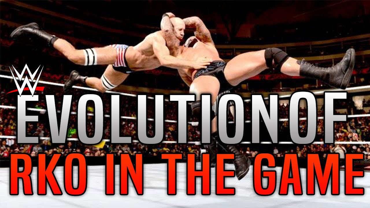 Wwe Games Evolution Of The Rko By Randy Orton Youtube