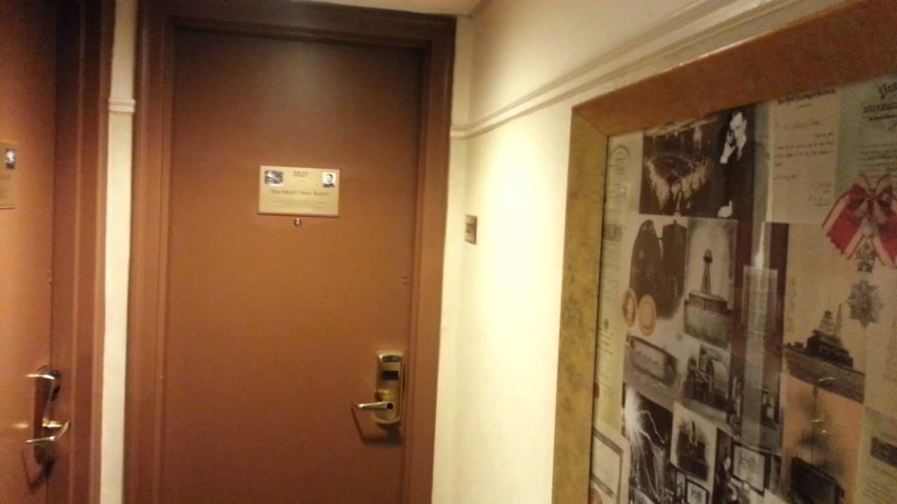 The Nikola Tesla Death Room New Yorker Hotel Room 3327